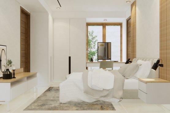 desain kamar utama modern