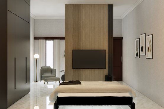 bedroom bergaya contemporary