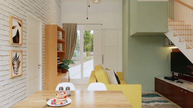 inspirasi desain rumah scandinavian