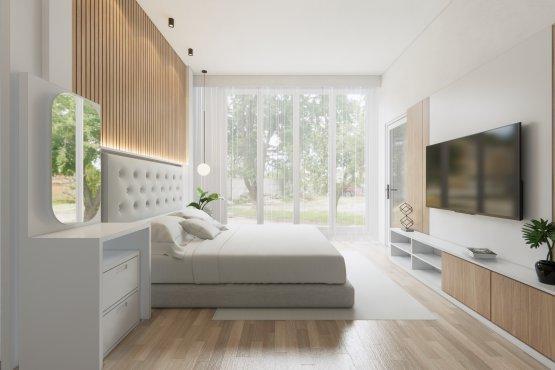 interior rumah industrial modern