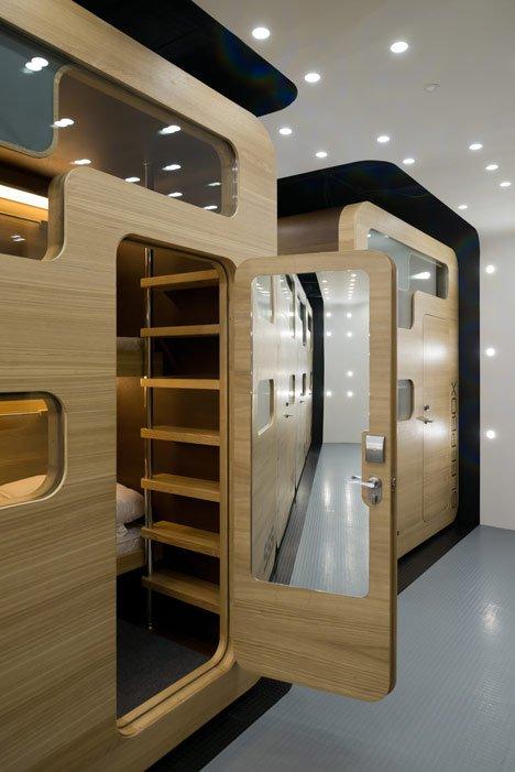 hotel kapsul sleepbox moskow
