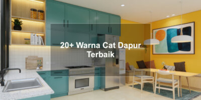 warna cat dapur terbaik