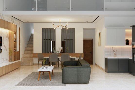 ruang tengah minimalis modern