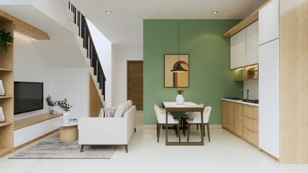 ruang tengah modern