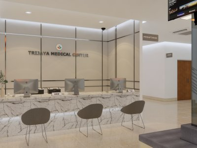 klinik minimalis modern