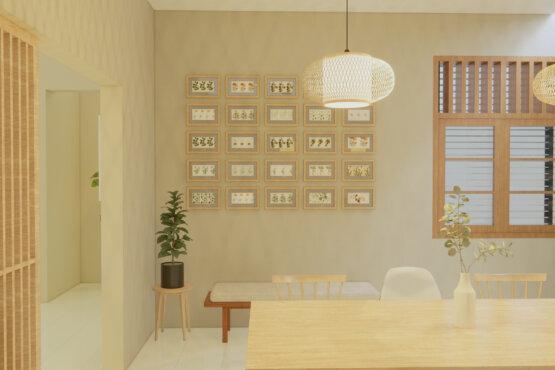 desain interior ruang makan scandinavian