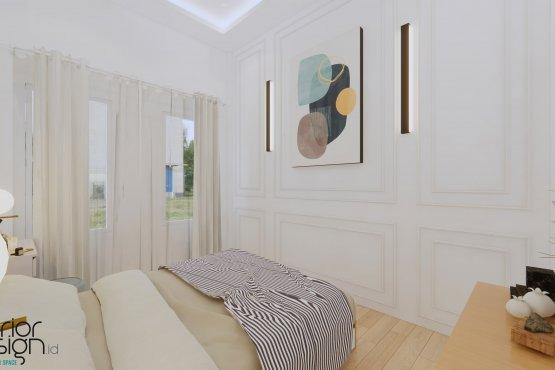 kamar tidur modern klasik