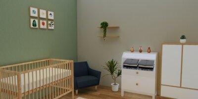 kamar anak skandinavia