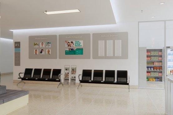 desain klinik minimalis modern