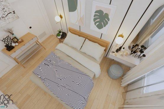 kamar tidur minimalis scandinavian