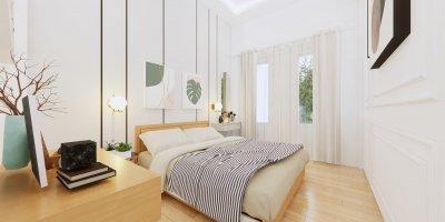 inspirasi kamar tidur modern klasik skandinavia