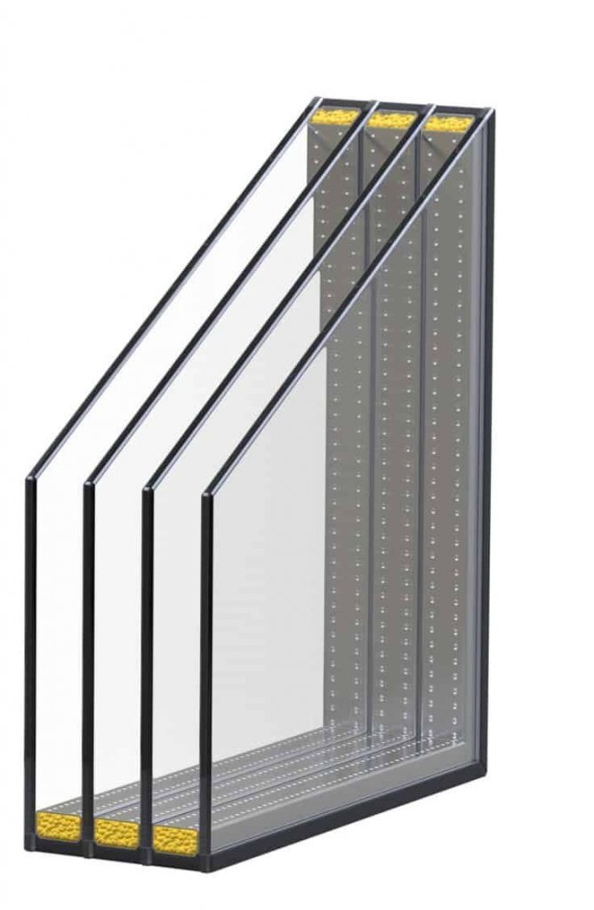 panel rangkap empat jendela