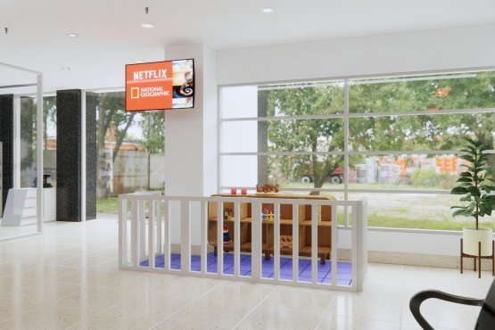 interior desain klinik minimalis modern