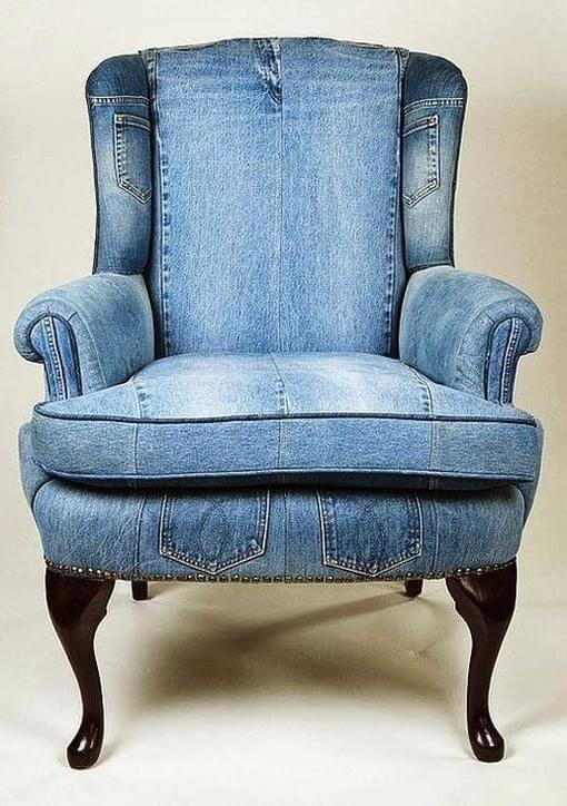 furniture bahan denim