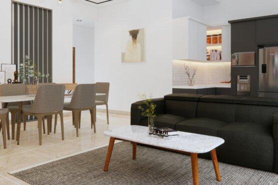 interior ruang tengah modern