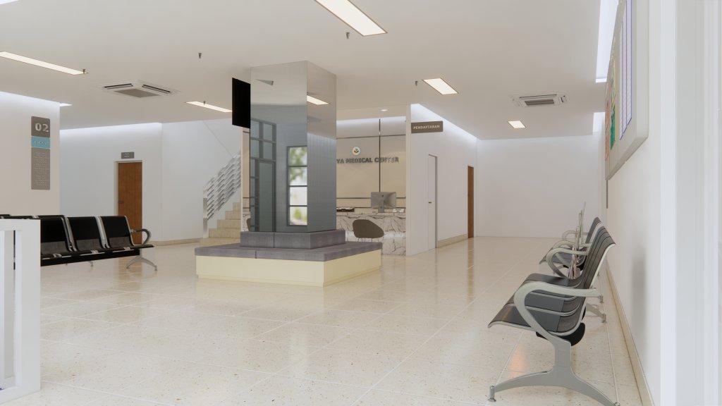 inspirasi klinik minimalis modern