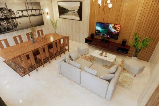 desain ruang santai