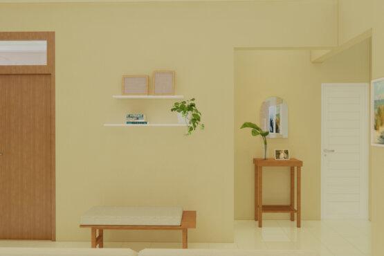 inspirasi ruang keluarga scandinavian