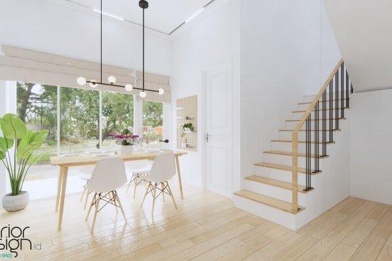 ruang makan modern klasik