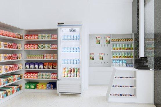 ide interior klinik minimalis modern