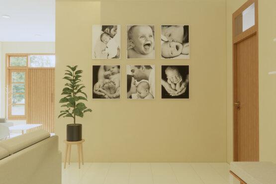 desain interior ruang keluarga scandinavian