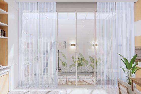interior ruang baca minimalis