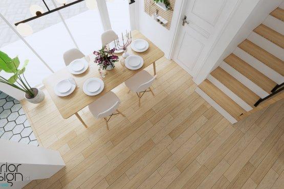 desain ruang makan scandinavian