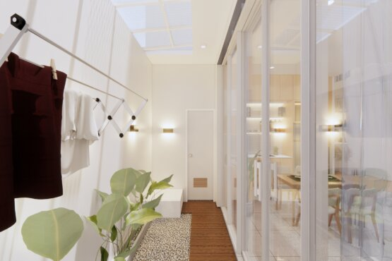 desain taman indoor minimalis