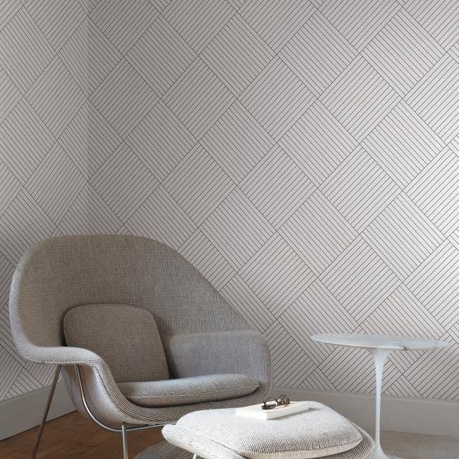 cara pasang wallpaper garis-garis terarah