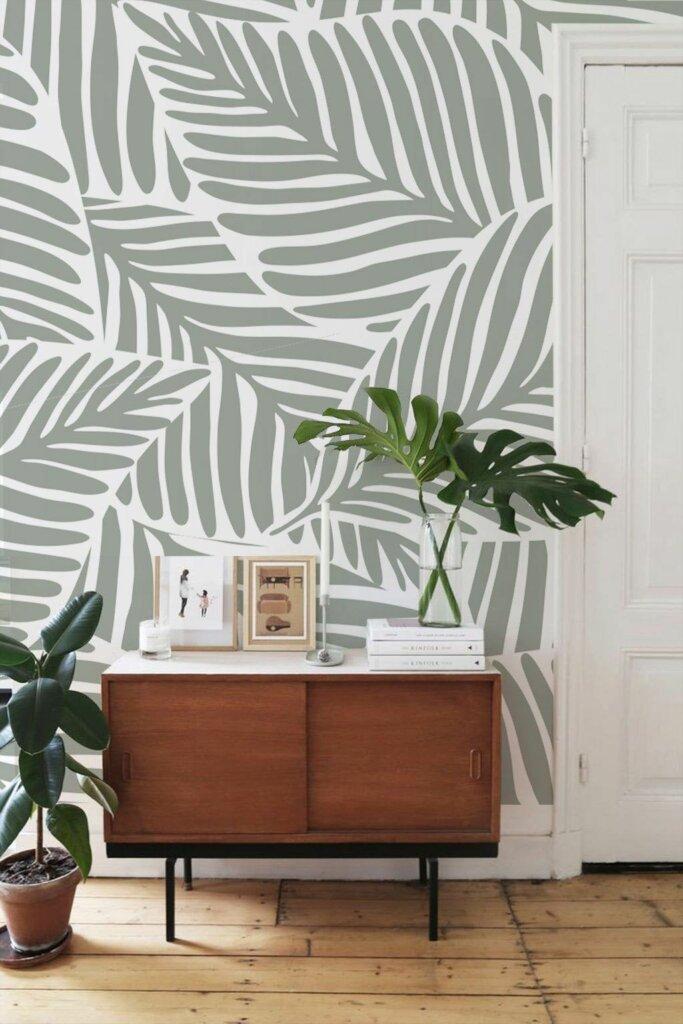 cara pasang wallpaper tumbuh-tumbuhan