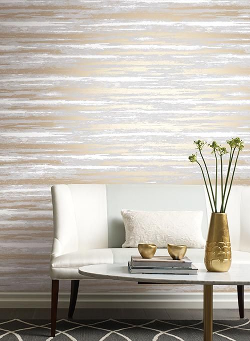 cara pasang wallpaper metalik