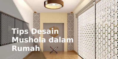 mushola dalam rumah