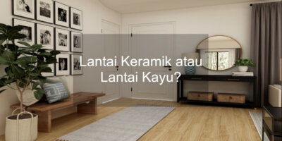 keramik lantai kayu
