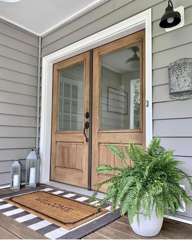 model pintu rumah eksterior