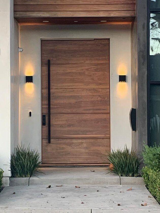 model pintu rumah kayu