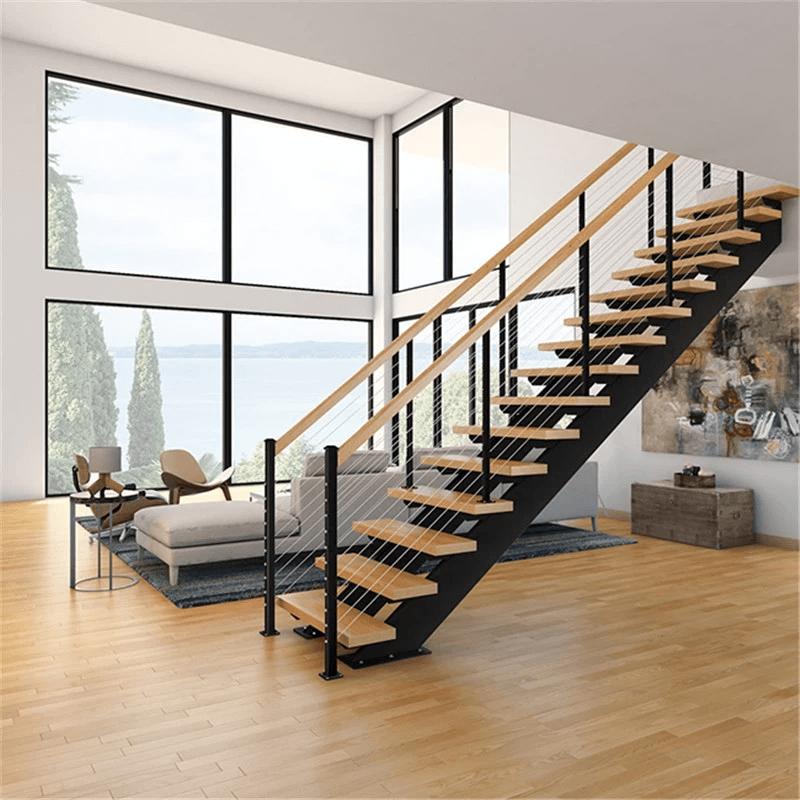 model tangga rumah lurus