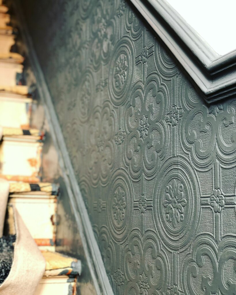 wallpaper model anaglypta