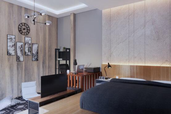 desain interior kamar kontemporer