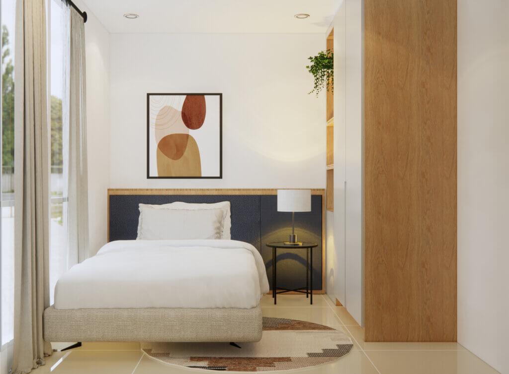 desain kamar tidur natural