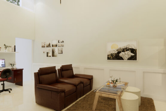 inspirasi ruang keluarga modern
