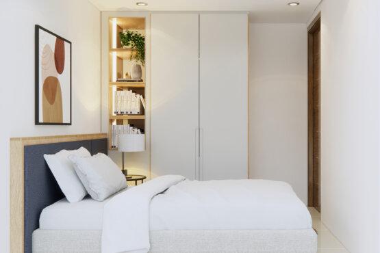 desain interior kamar tidur natural