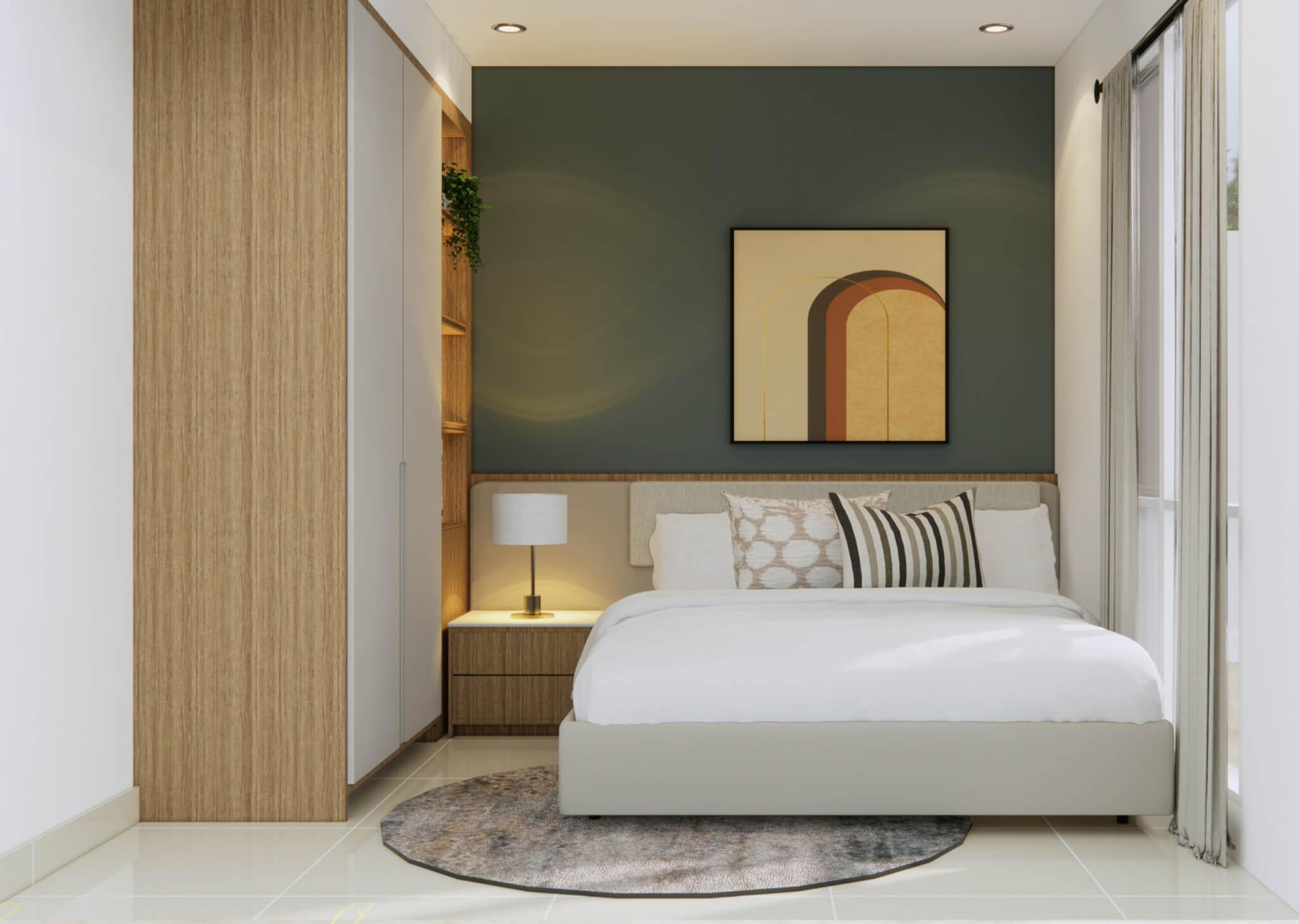 inspirasi desain kamar tidur natural