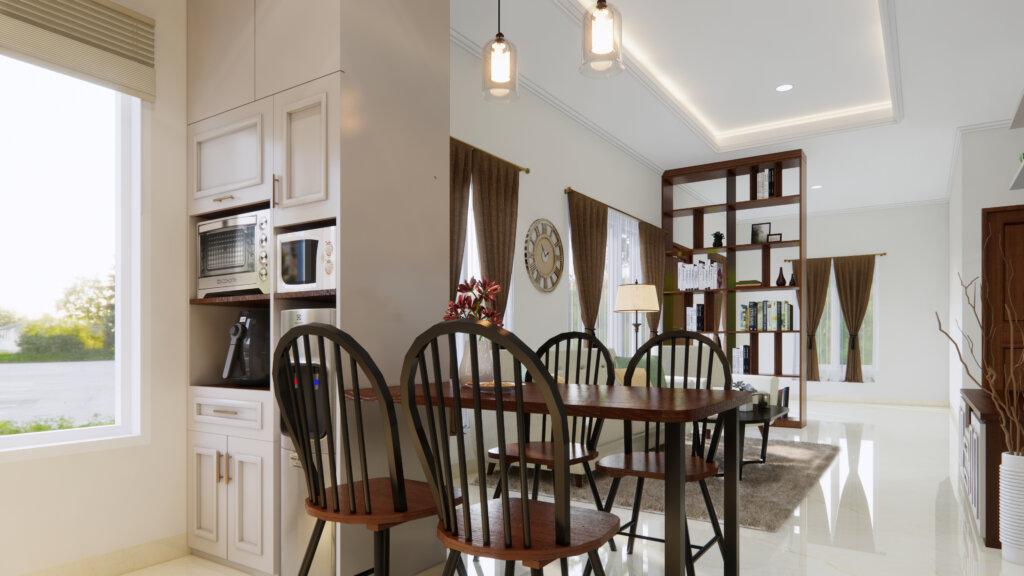 desain interior ruang tengah modern klasik sesuai kepribadian