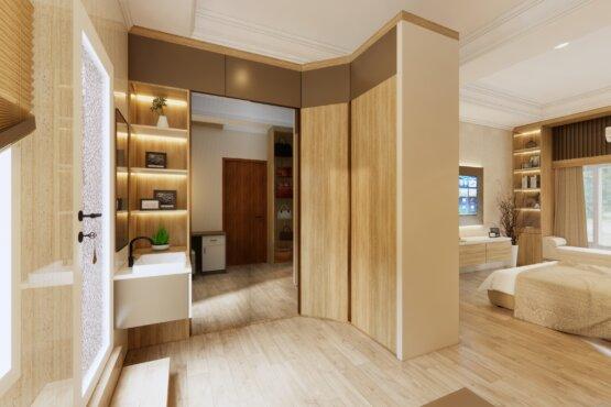 interior kamar tidur modern