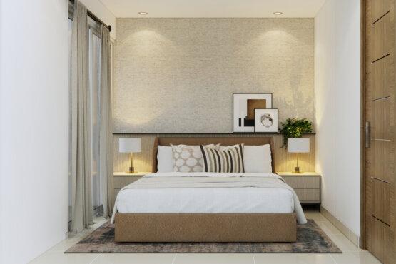 desain kamar tidur natural modern