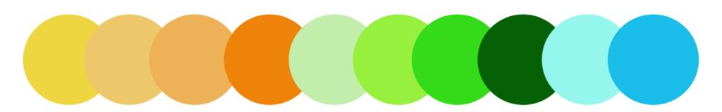 skema warna rumah tropis