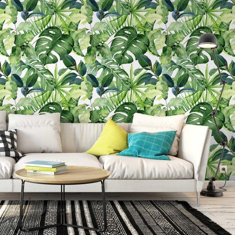 dekorasi rumah tropis