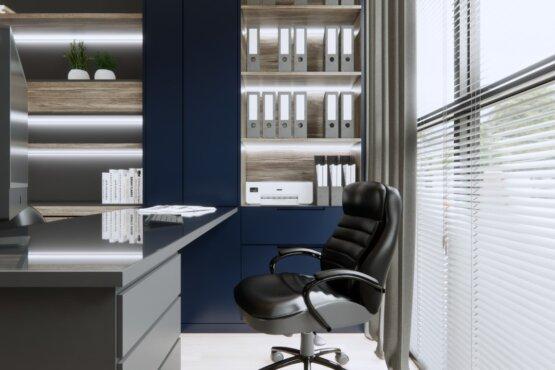 inspirasi kantor minimalis modern