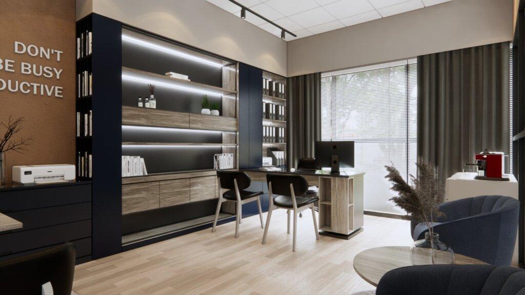 ide inspirasi kantor minimalis modern