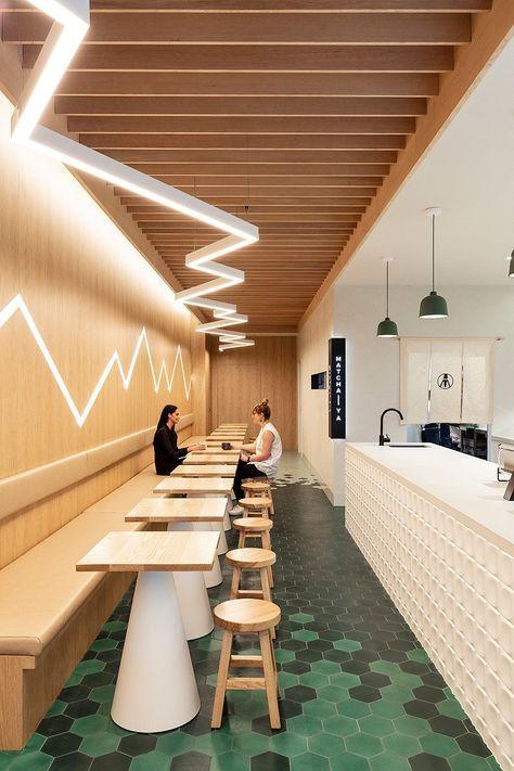 interior cafe kontemporer